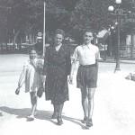 Con mamma Albertina