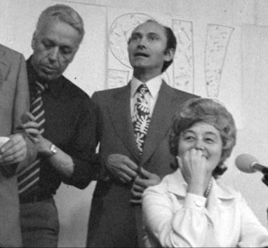Con Chiara e Aldo Stedile (Fons)-Loppiano 1966