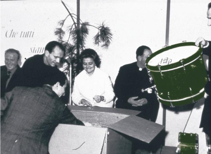 Con Chiara, Don Foresi e il Gen Rosso-Loppiano 1966