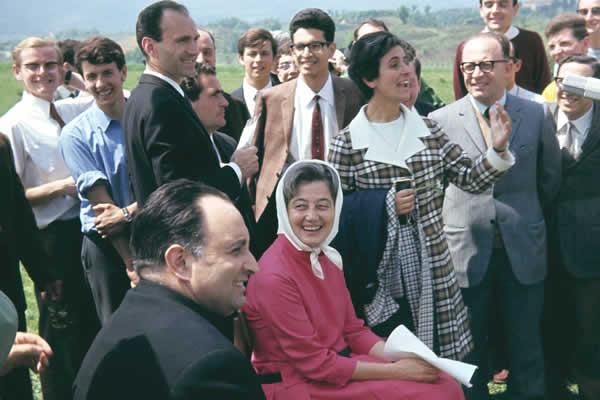 Maras, Chiara, Don Foresi – Loppiano 1969
