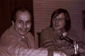 Piero Pasolini a un congresso