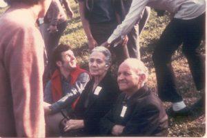Albertina con il marito Livio