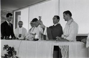 Da sinistra : Aurelio Lagorio, Antonio Petrilli, Guido Brini, Aldo Fons Stedile, Maras e Marco Tecilla