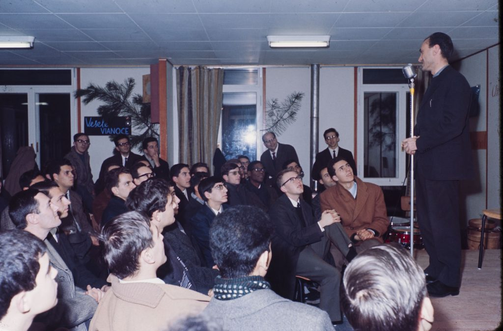 Natale 1966 a Campogiallo con Maras