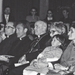 Maras con Chiara, il card. Benelli e Lionello Bonfanti