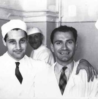 Maras con il dott. Enrico Cavallini (a sinistra)