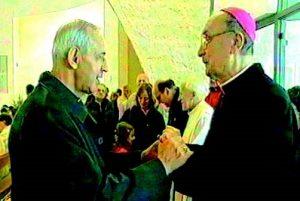 Nella foto Mons. Giovannetti vescovo di Fiesole e Mons. Tinti vescovo di Carpi