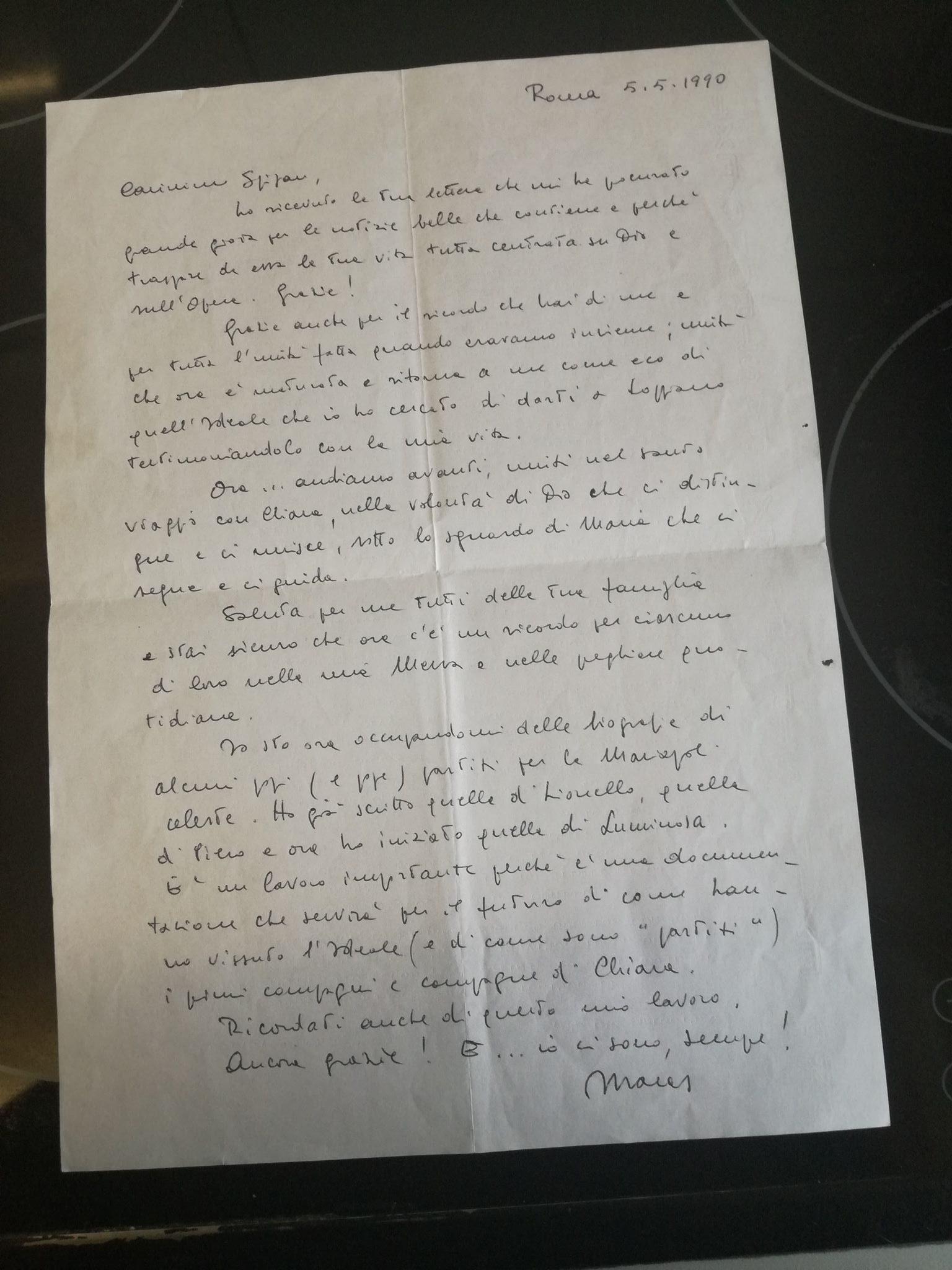 lettera di Maras a Stipan