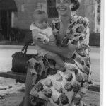 Mamma Paola con il piccolo Aurelio