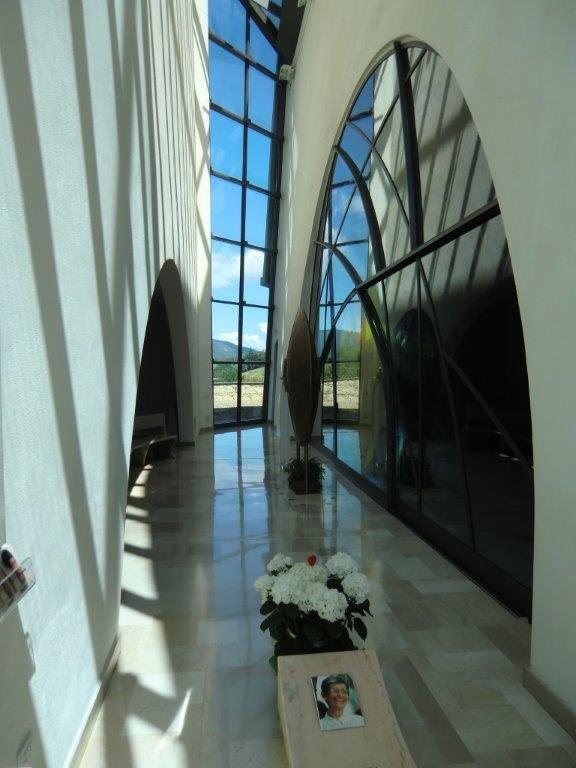 Santuario Maria Theotokos a Loppiano - Tomba della serva di Dio Renata Borlone