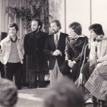 1978 Casetta 8 si presenta a Chiara e Maras