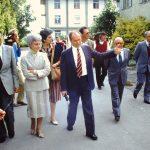 Con Chiara, Chiaretto e Eli a Montet (15-12-1984)