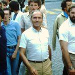 A Montet-1984 - sinistra di Maras,Manuel Salazar, e dietro Gerald Brandl e Sandro Crippa.