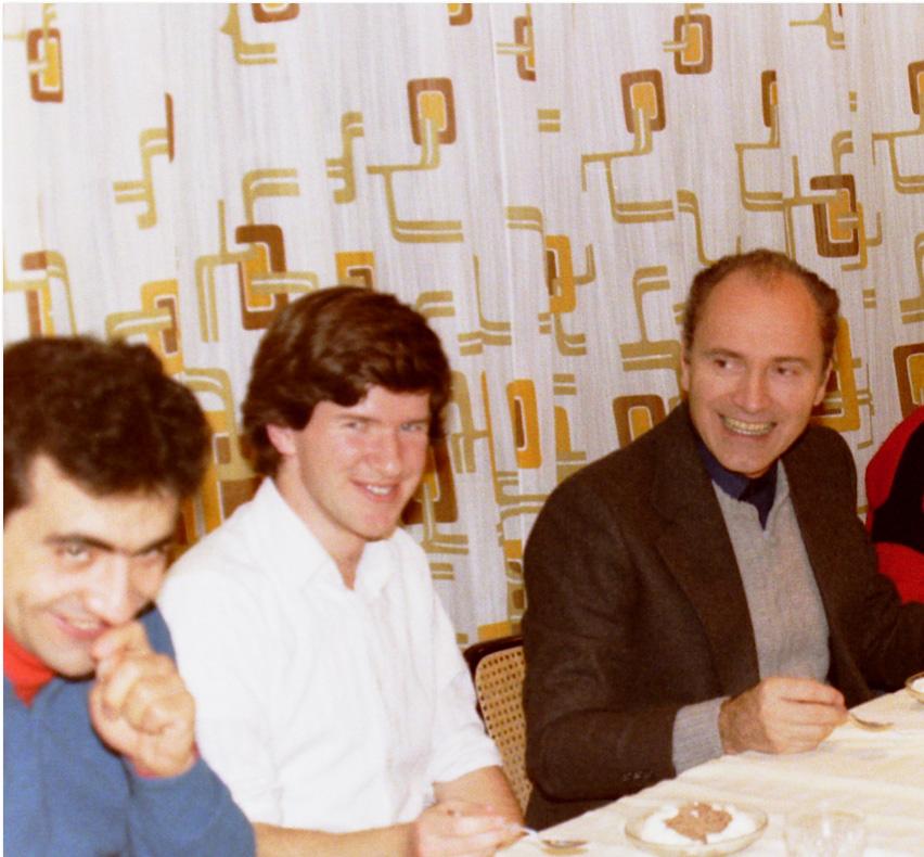 A Montet - 1984 - Raffaele Lombardi è il primo a sinistra