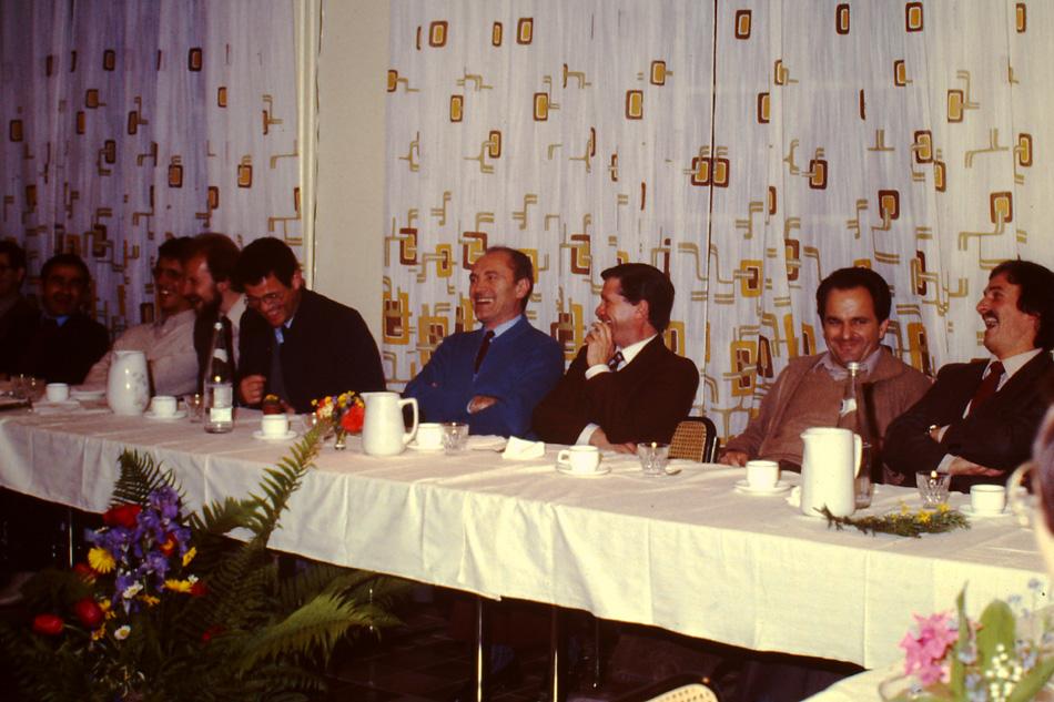 A Montet con Angiolino Lucchetti, Slvio Daneo e Philippe Herenzeller