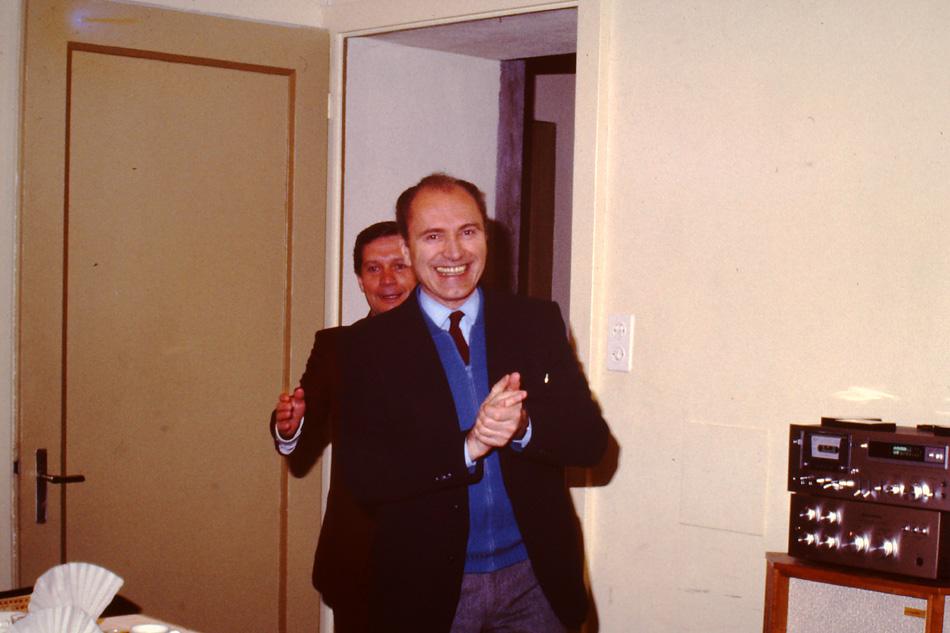 A Montet con Silvio Daneo
