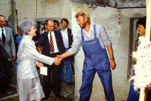 Con Chiara a Montet (15-12-1984)