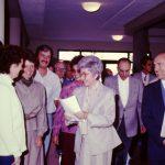 Con Chiara e Don Foresi a Montet (15-12-1984)