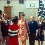 Maras a Campogiallo con Albertina e al suo fianco Paolo Clays