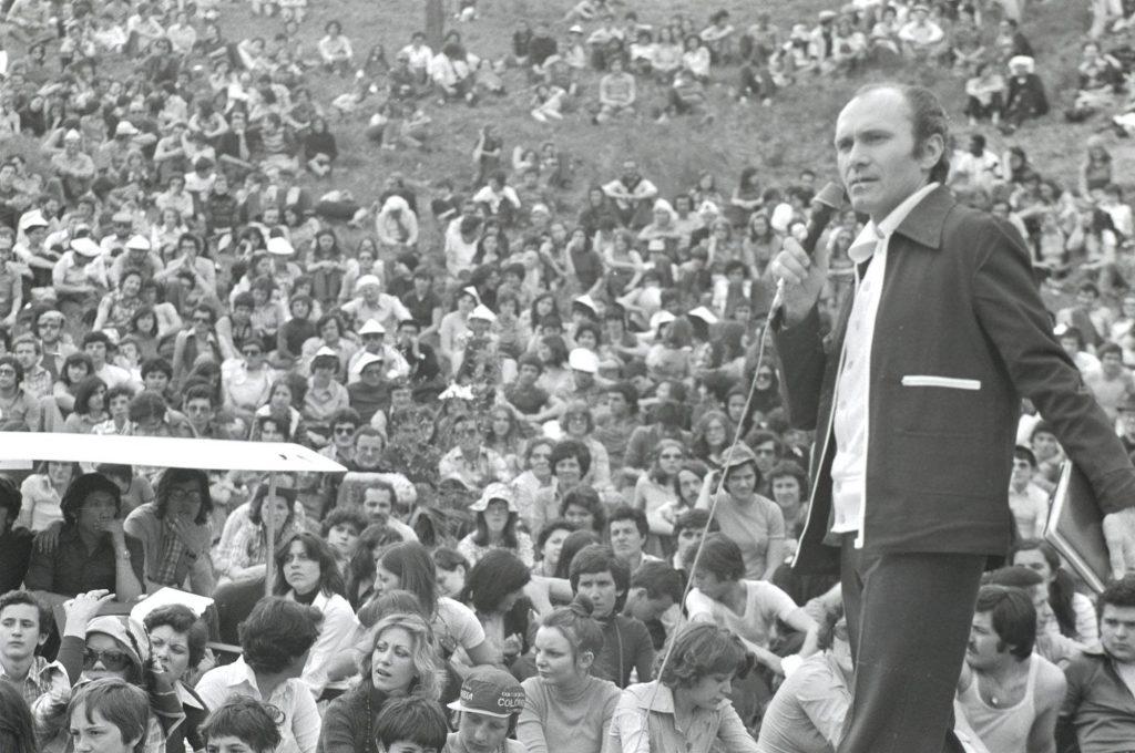 Maras il 1° maggio 1971 a Loppiano