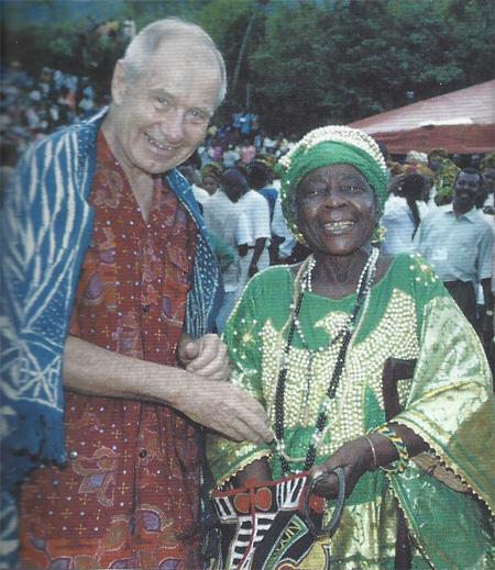 Lucio Dal Soglio in Africa