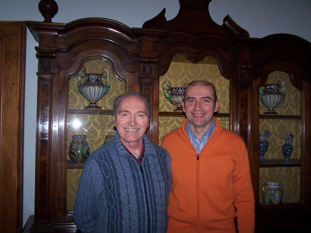 Maras e Lino nell''ottobre 2007
