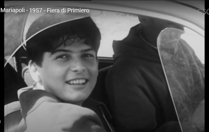 Eolo alla 1a Mariapoli del 1957 a Fiera di Primiero