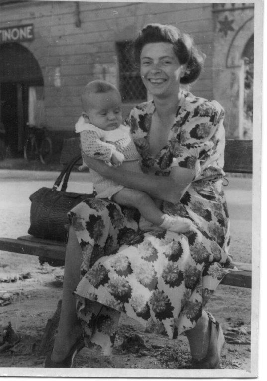 Mamma Paola col piccolo Aurelio
