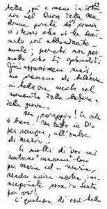 Lettera di Chiara