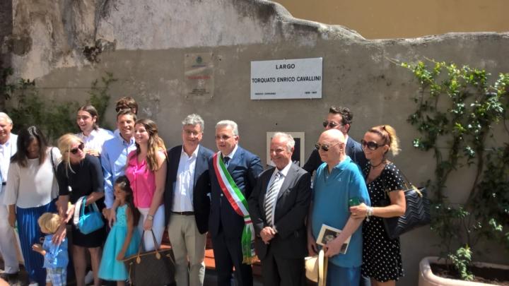 Cerimonia di intitolazione al professor Torquato Enrico Cavallini